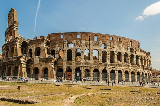 Řím – Vueling – 1 742 Kč, odlet z Prahy