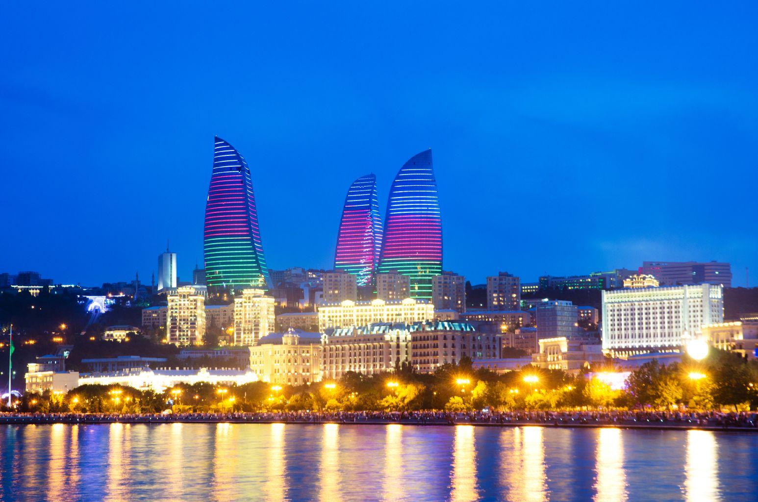 Ázerbájdžán – Baku – 1391 Kč