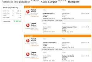 Malajsie - Kuala Lumpur 10 688 Kč
