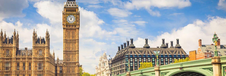 Londýn v létě