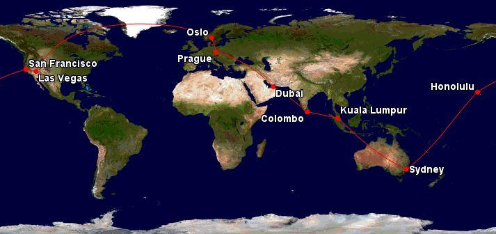 Cesta kolem světa – 28 221 Kč