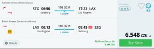 Letní Los Angeles ze Salzburgu za 6548 Kč