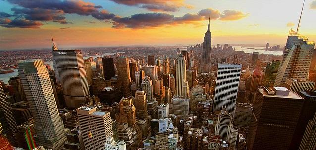 New York a Boston