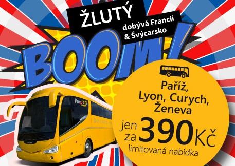Francie či Švýcarsko busem – 780 Kč