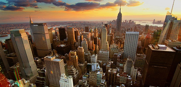 New York, Chicago, Miami a další