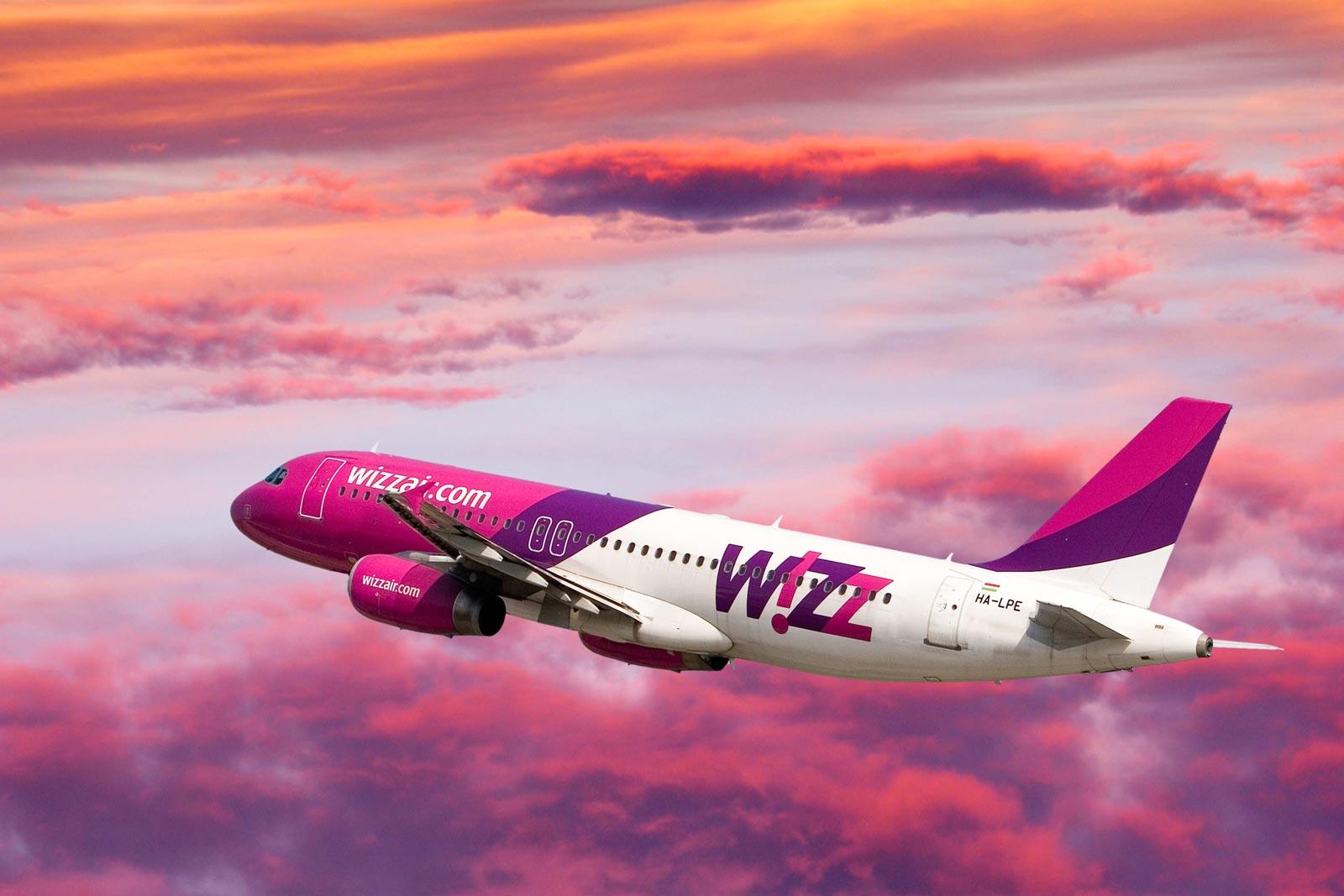 Akce Wizz – Londýn, Řím… a další! Od 568 Kč.