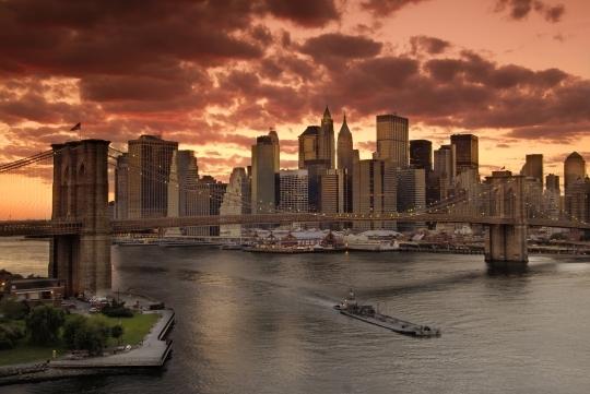 New York a další města USA