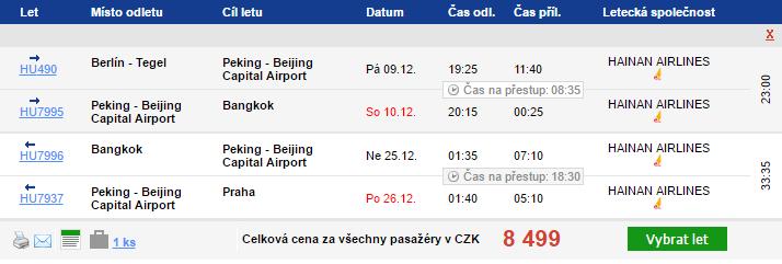 Thajsko z Prahy a návratem do Berlína za 7379 Kč
