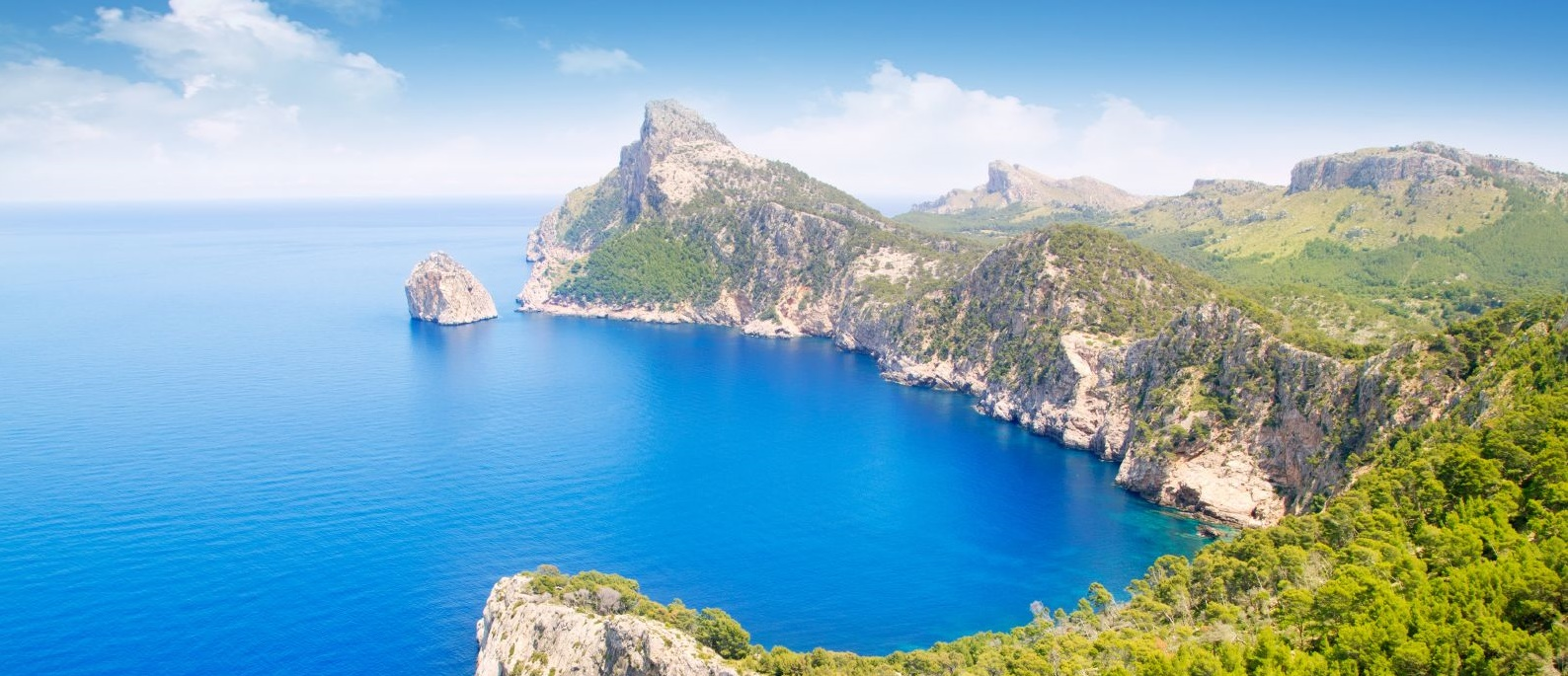 Mallorca z Vídně za 1 350 Kč