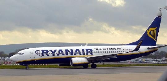 Ryanair nově do Barcelony a Madridu