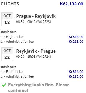 Nová linka z Prahy na Island