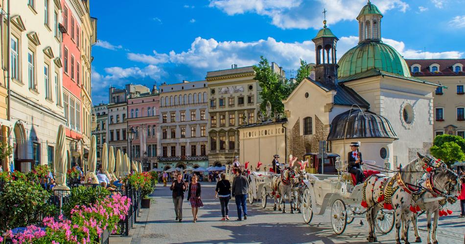Ryanair: nově do Krakowa