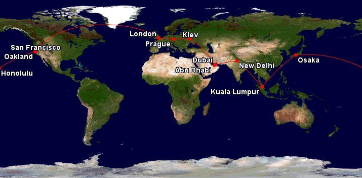 Cesta kolem světa – 27 750 Kč