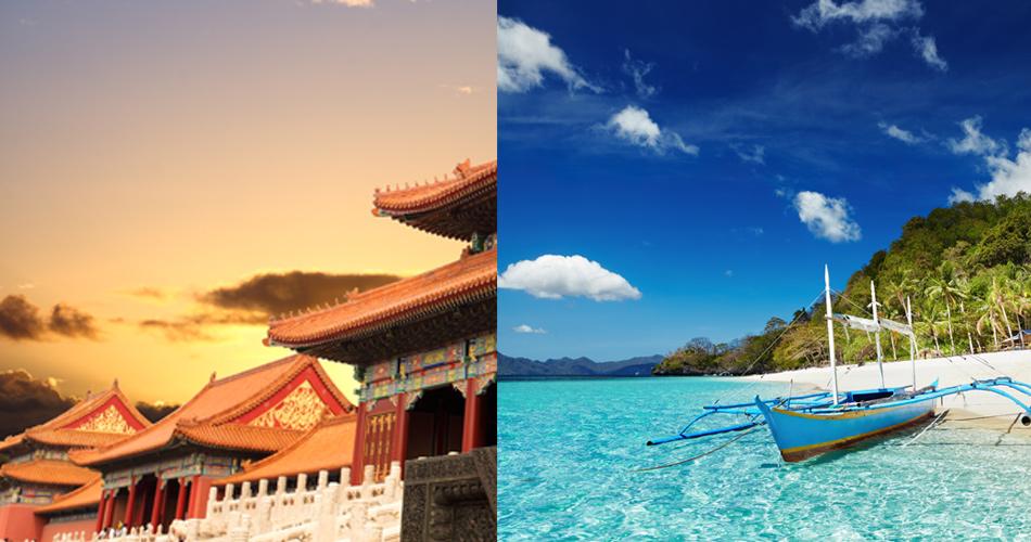 2v1: Čína + Filipíny za 13 770 Kč