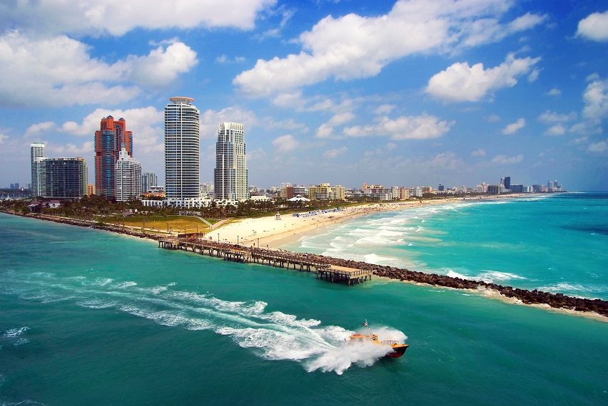 Miami z Berlína za 7 025 Kč