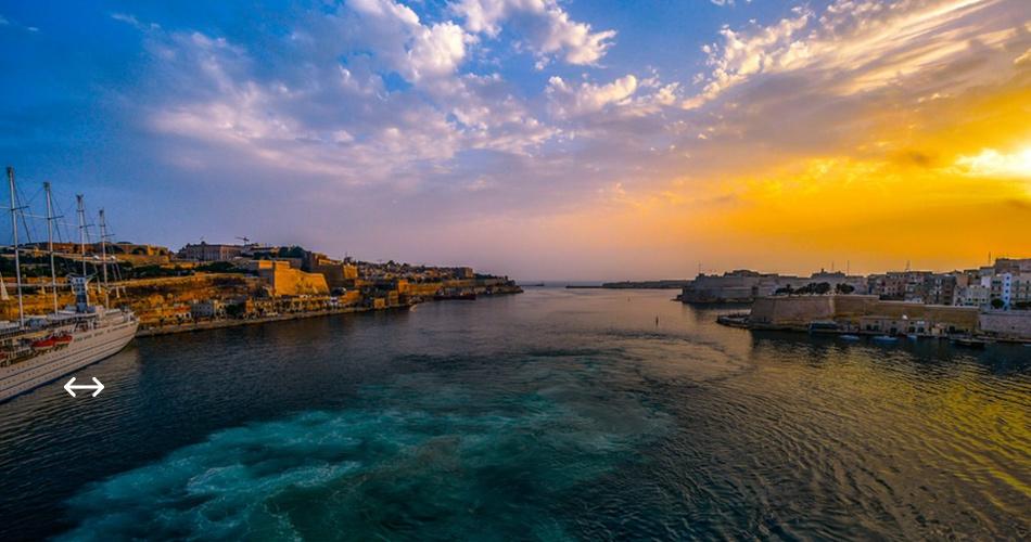 Malta v létě