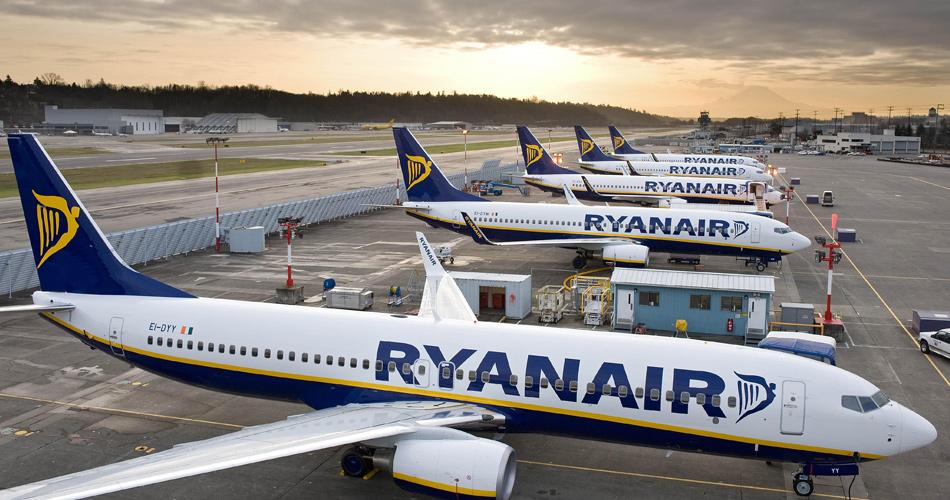 Ryanair: nově lety s přestupem