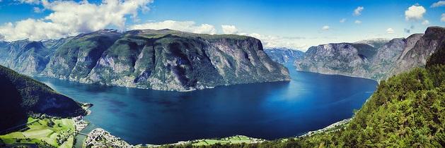 Letní Norsko
