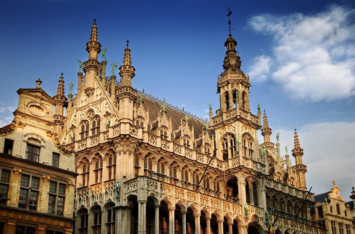 Brusel z Prahy za 918 Kč