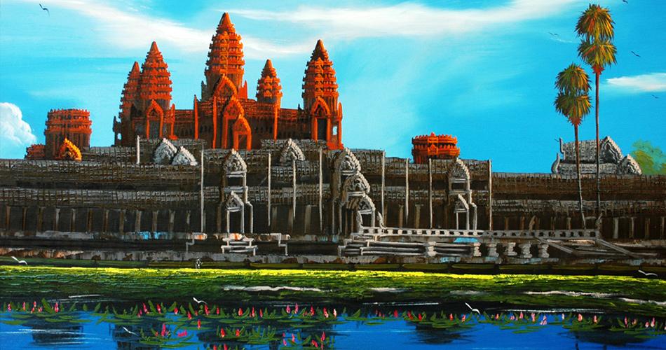 Kambodža s Emirates od 12 629 Kč