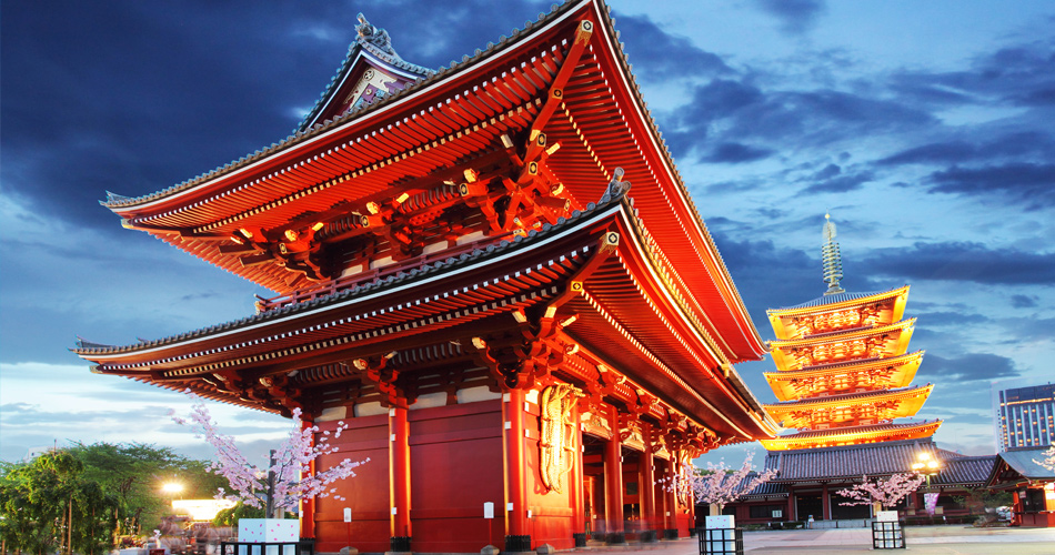 Japonsko v business class – 12 751 Kč
