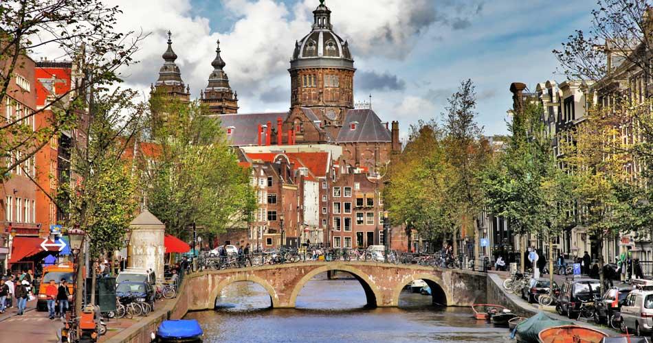 Podzimní Amsterdam z Prahy za 1 323 Kč
