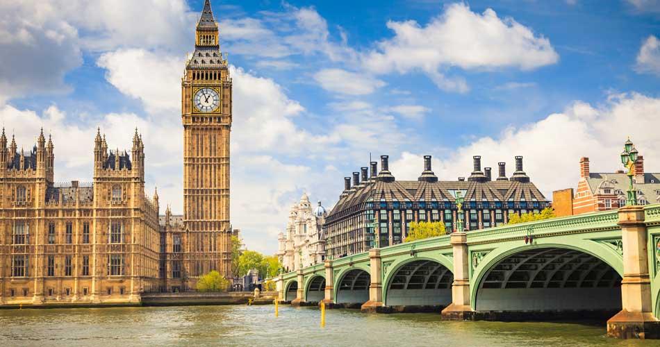 Londýn z Brna či Prahy – 628 Kč