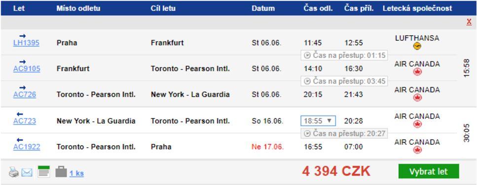 New York, Havana a Kanada - od 4285 Kč