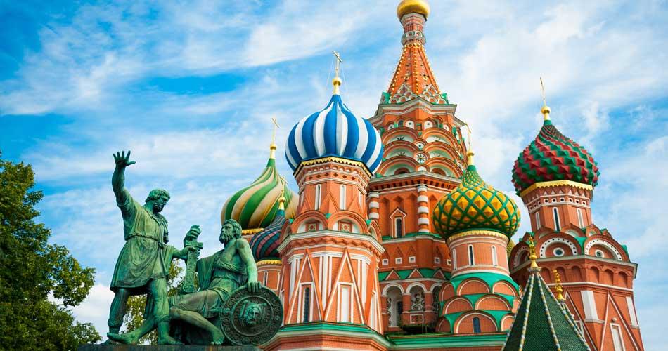 Rusko – Moskva za 1 574 Kč