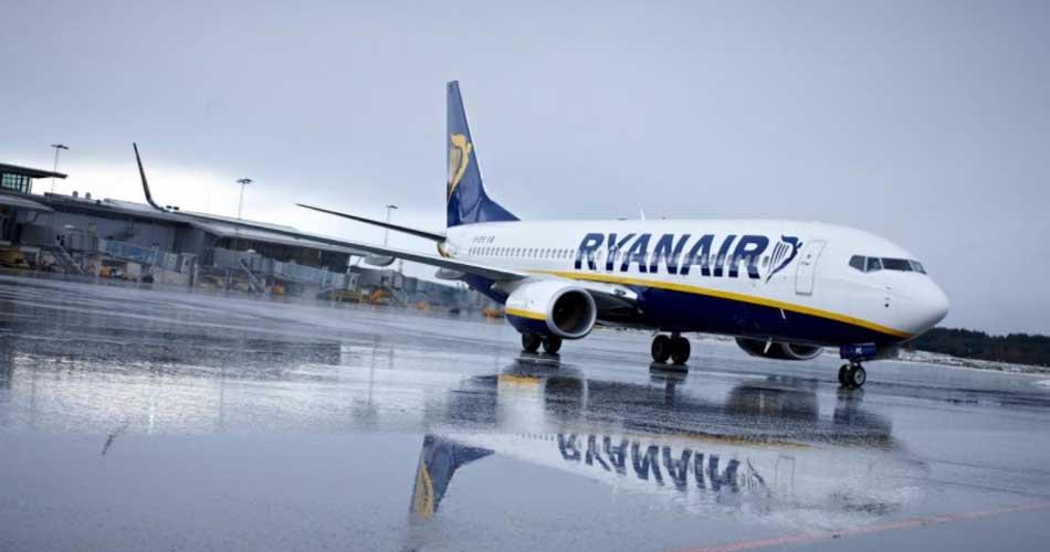 Zrušené lety u Ryanairu
