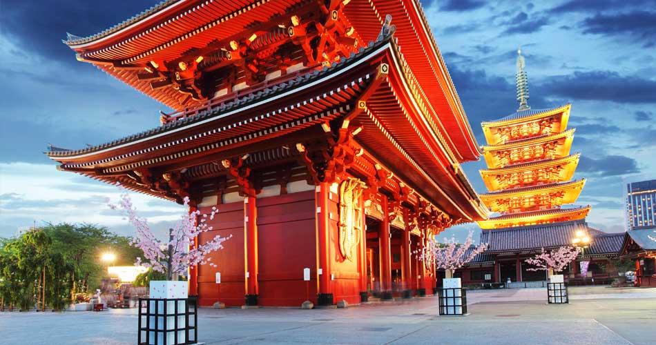 Japonsko – Fukuoka z Prahy za 8 998 Kč