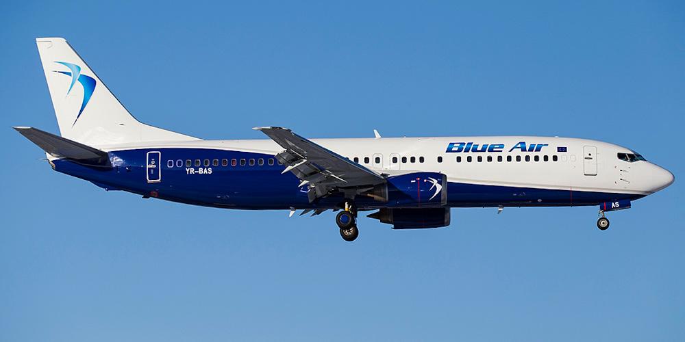 Nové linky Blue Air: z Brna do Evropy