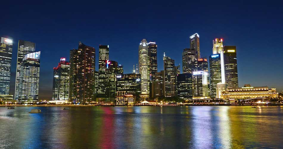 Singapur z Berlína