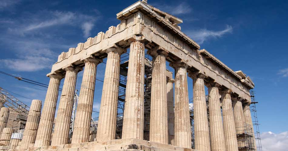 Atény z Katowic za 1088 Kč