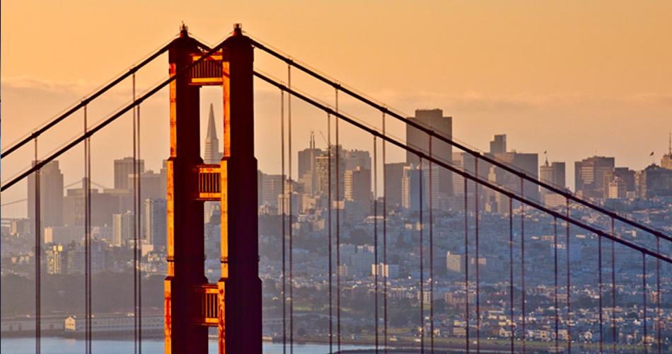 San Francisco z Vídně za 9 459 Kč