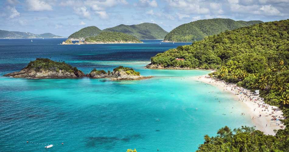 Americké Panenské ostrovy z Vídně za 8 720 Kč
