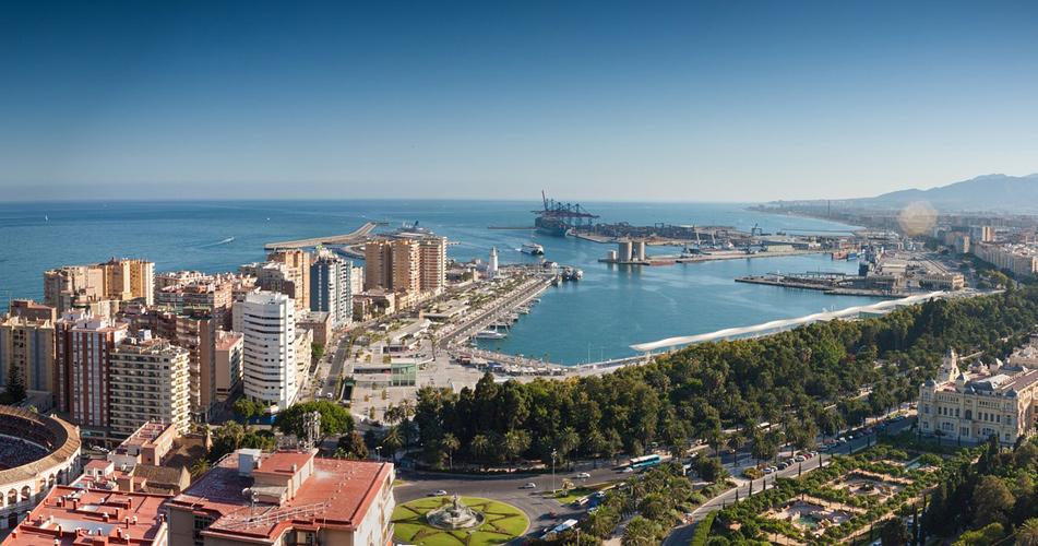 Malaga v červnu