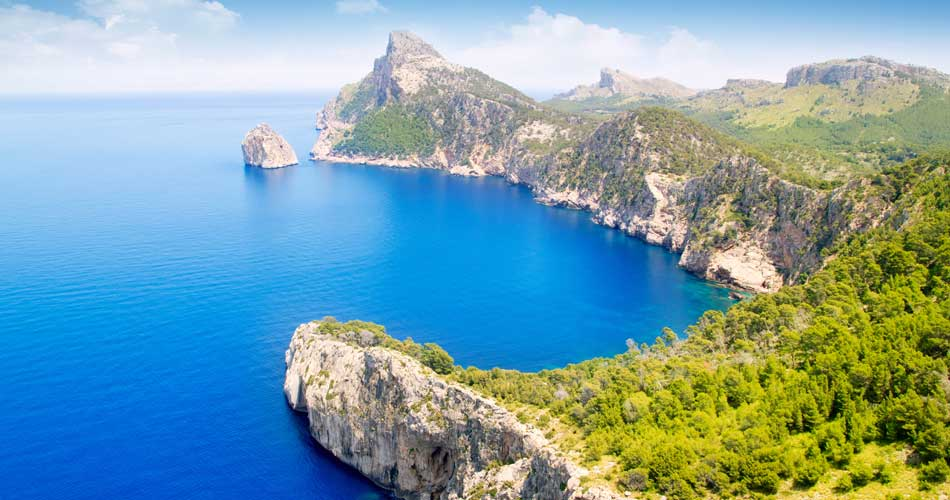 Mallorca, Barcelona a Kos za 259 Kč