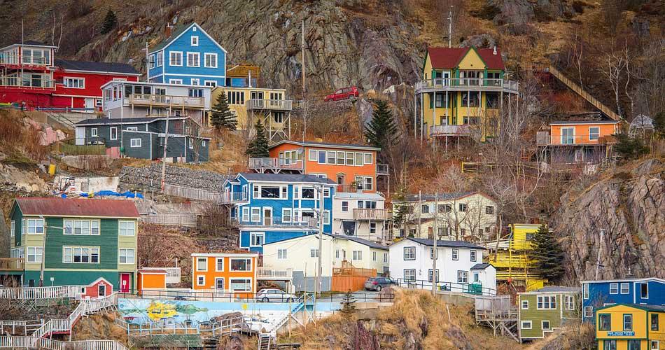 Kanada – Newfoundland v létě z Bavorska za 4 401 Kč