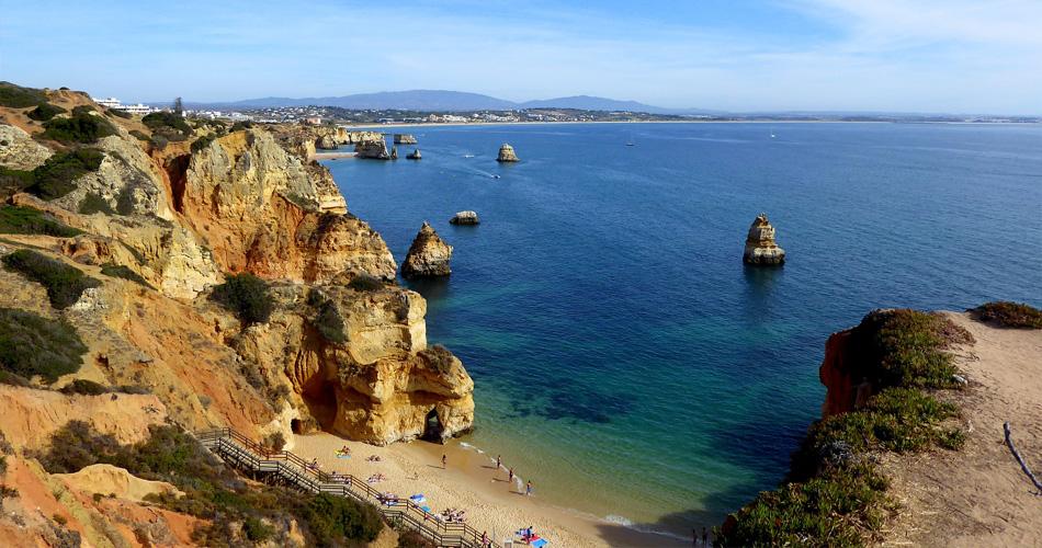 Portugalské Faro v červnu