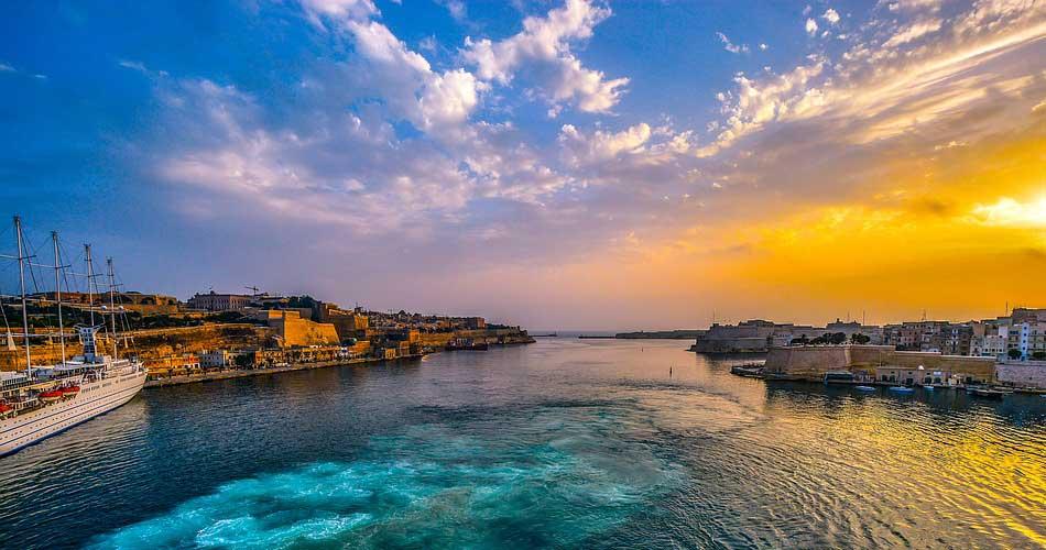 Prázdninová Malta z Vídně za 1 109 Kč