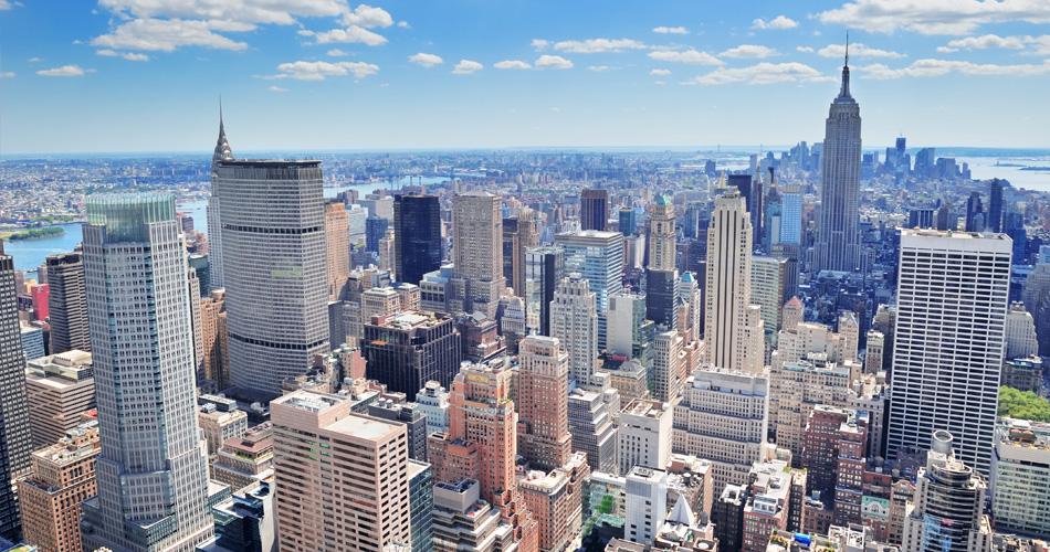 New York a Los Angeles z Vídně od 7 996 Kč