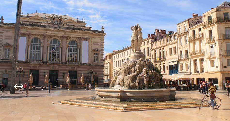 Marseille, Montpellier a další na konci léta od 52 Kč