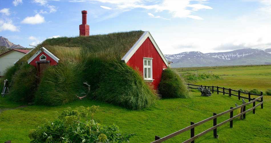 Island v létě