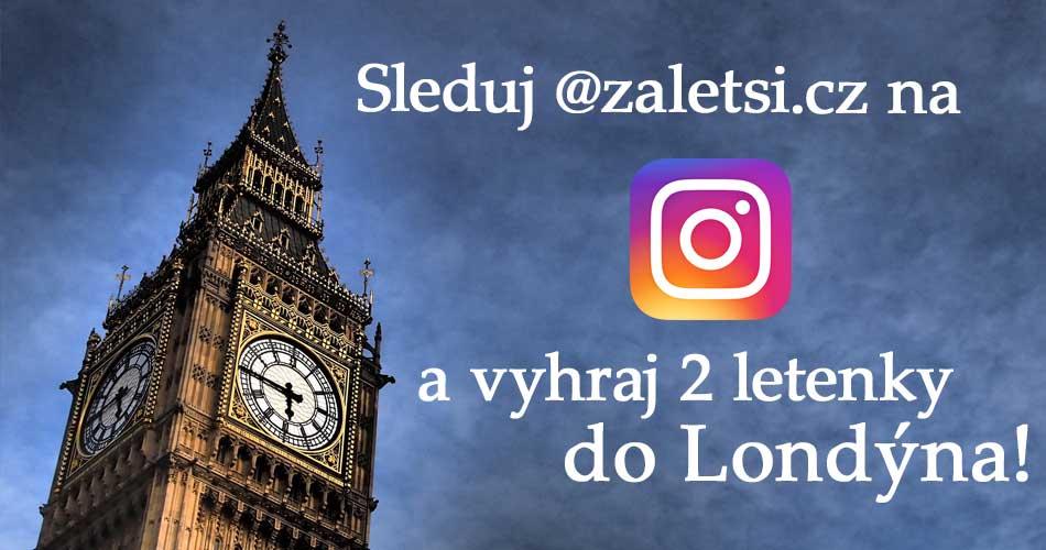 Soutěž o 2 letenky do Londýna