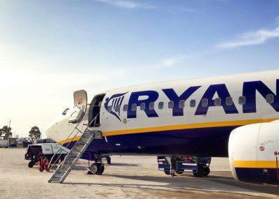 Ryanair přerušuje