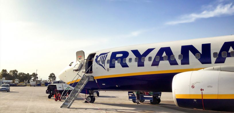 Ryanair do konce května přerušuje všechny lety