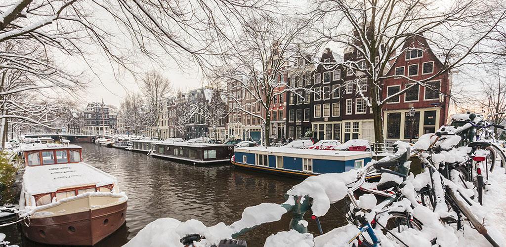 Amsterdam na víkend z Prahy za 1 050 Kč