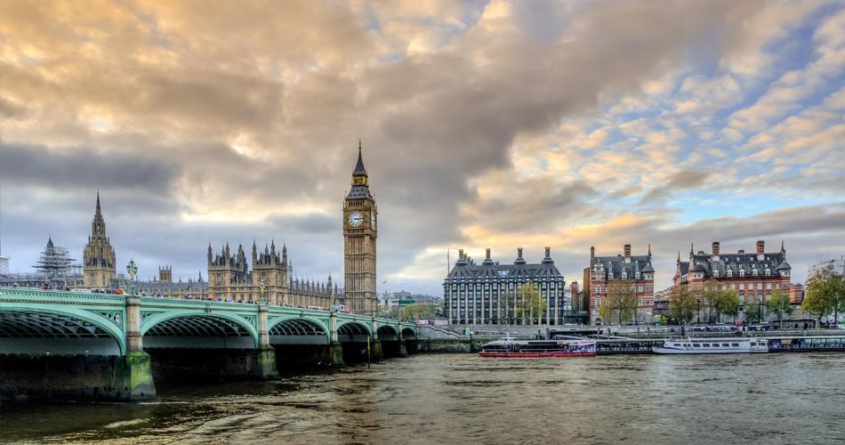 S báglem na víkend do Londýna za 1 781 Kč