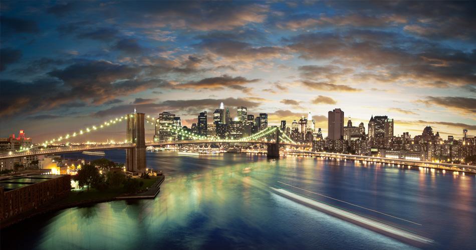 New York i Los Angeles z Vídně